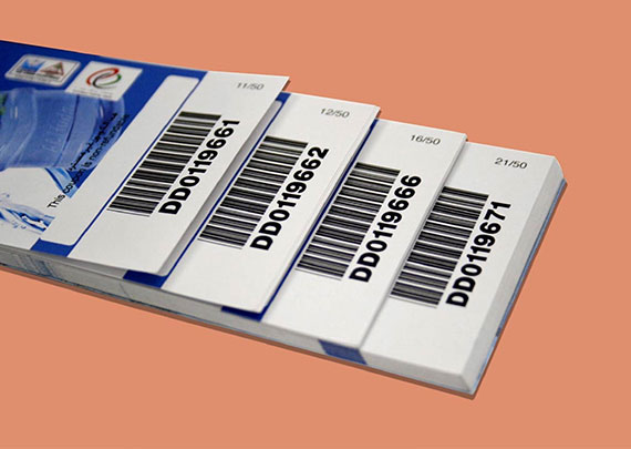 barcode labels stickers